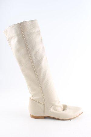 Shoe Biz Copenhagen Stivale militare bianco sporco stile casual