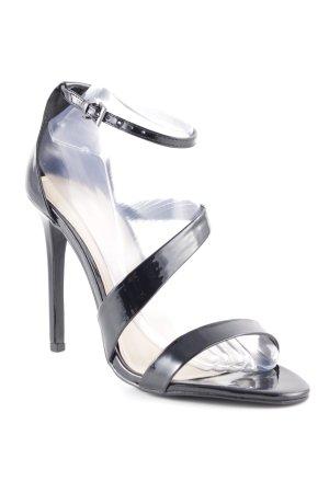 shoe Box Riemchen-Sandaletten schwarz Elegant