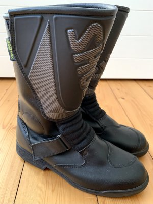Shoei Biker Boots black leather