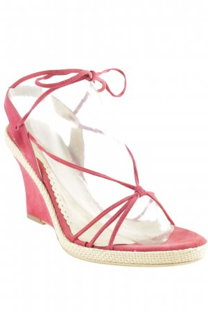 shoeroom Wedges Sandaletten rot