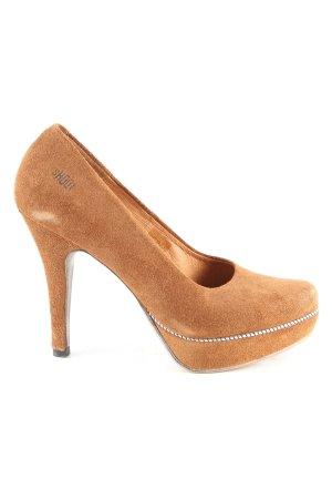 Shoot High Heels braun Business-Look