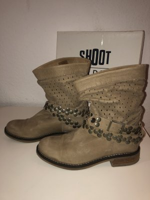SHOOT Stiefelette Taupe
