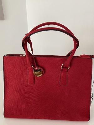 Herisson Firenze Shopper rouge foncé-rouge carmin