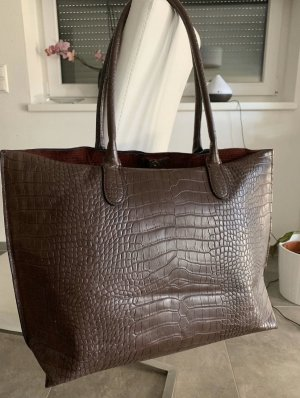 H&M Shopper dark brown