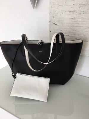 Ralph Lauren Shopper zwart-wit