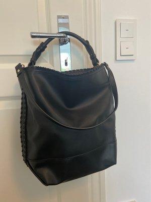 Shopper Bag schwarz von Mango