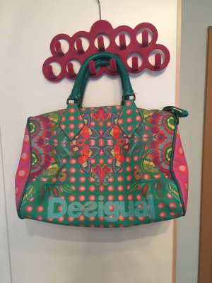 Desigual Shopper pink-turquoise