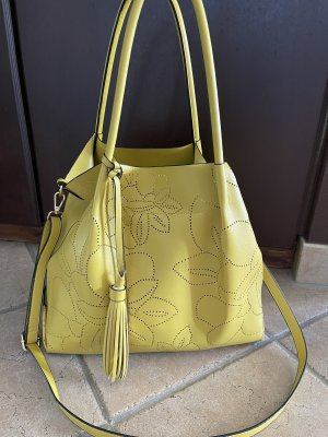 Unbekannte Marke Torba shopper żółty