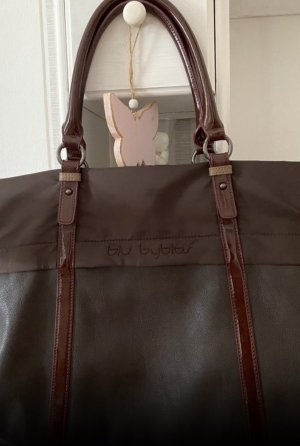 Byblos Borsa shopper marrone scuro