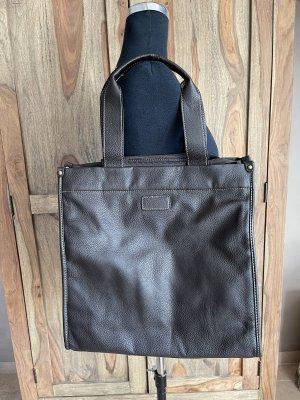 0039 Italy Sac Baril brun noir