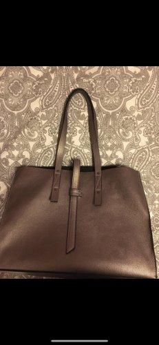 Mango Carry Bag mauve-silver-colored