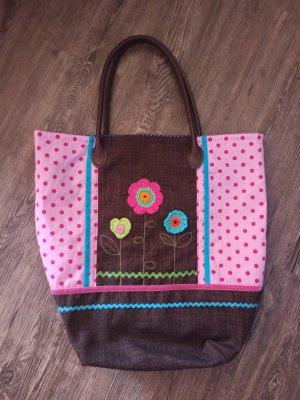 Handmade Shopper veelkleurig