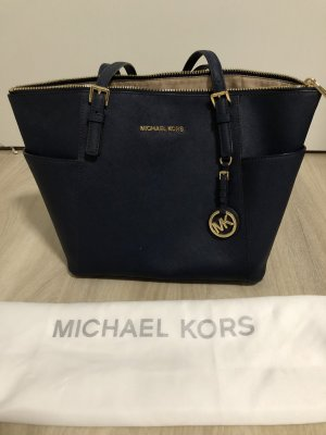 Michael Kors Borsa shopper blu scuro