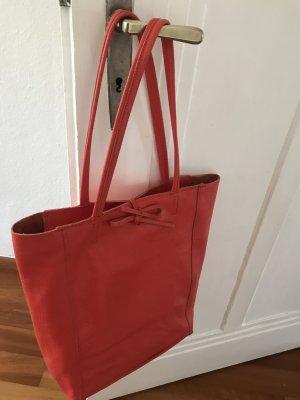Shopper Ledershopper Handtasche Tasche neu kräftig karalle