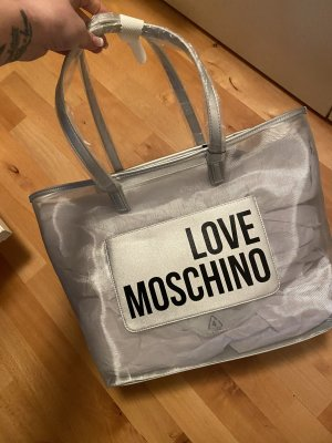 Love Moschino Shopper light grey