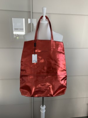 Shopper Marc Cain metallic rot *Neu*