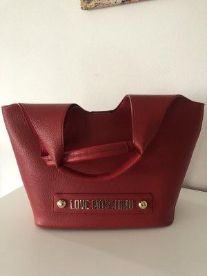 Love Moschino Shopper rouge foncé