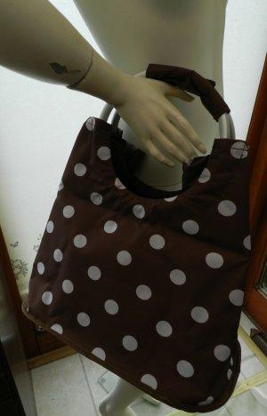 Shopper mit süßem Pünktchen-Muster - Damen Tasche