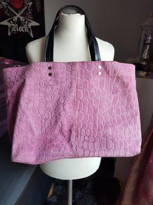 Shopper rosa  Leder