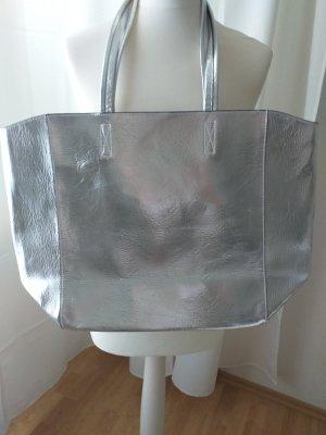 Asos Borsa shopper argento-grigio chiaro Poliestere