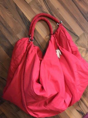 Shopper Sporttasche cool Lässig Lacoste Rot - ein echter Hingucker!
