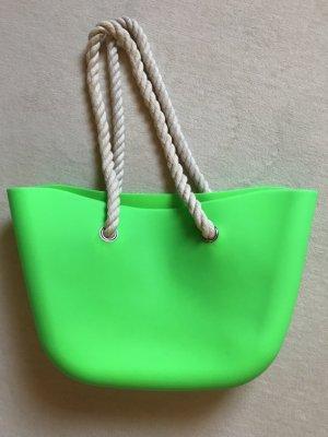 Shopper Strandtasche NEU in Neongrün