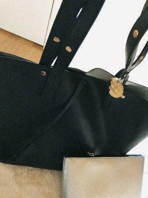 Shopper Tasche Liu Jo Handtasche Blau Clutch