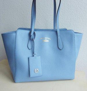 Shopper Tasche, Marke Gucci, hellblau, neu