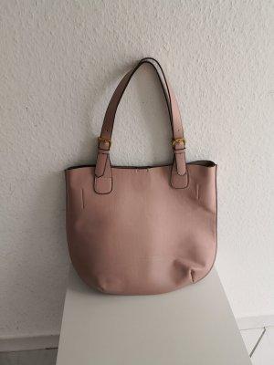 Shopper Tasche Nude Rosa Rosé