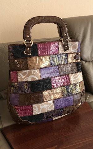 bebe Shopper multicolore cuir