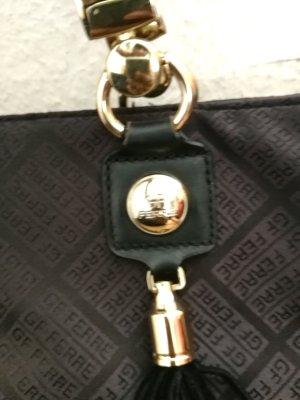 Gianfranco Ferré Shopper black-gold-colored
