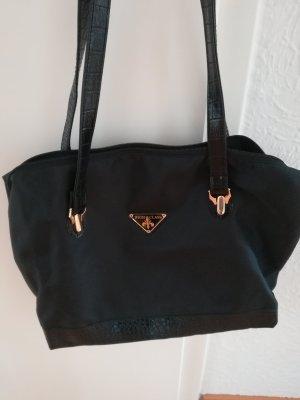 Tchibo / TCM Shopper zwart-goud