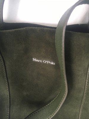 Marc O'Polo Borsa shopper verde scuro