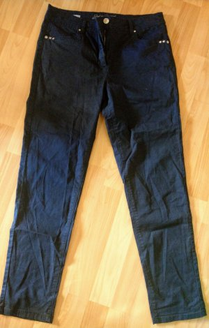 C&A Boyfriend Trousers dark blue
