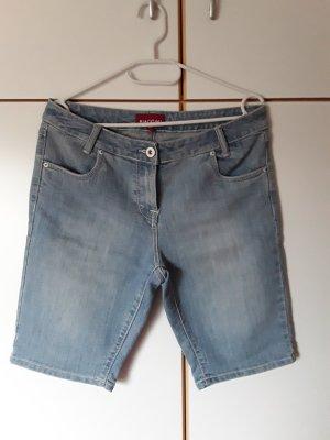 Biaggini Short en jean bleu pâle
