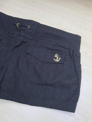 Accessorize Pantalón de Playa negro-color oro
