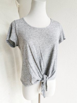 Only Cropped Top grey