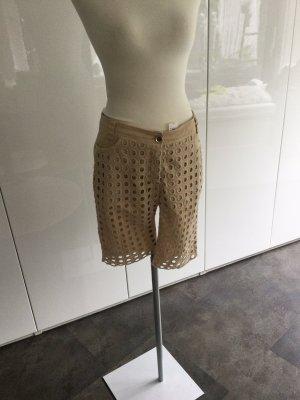 Eureka Pantalon capri crème coton