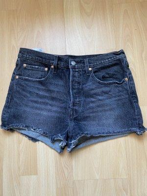 Levi's Pantaloncino di jeans antracite-nero