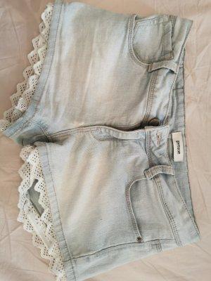 Pimkie Pantalón corto de tela vaquera multicolor
