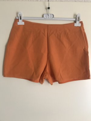 Hennes Collection by H&M Pantaloncino a vita alta arancione