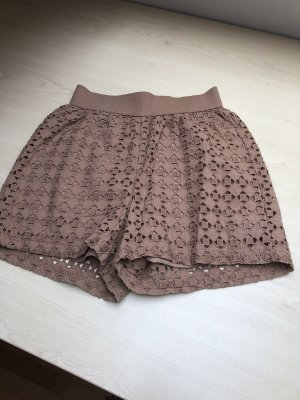 Short spitze broderie anglaise