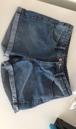 H&M Jeansowe szorty chabrowy