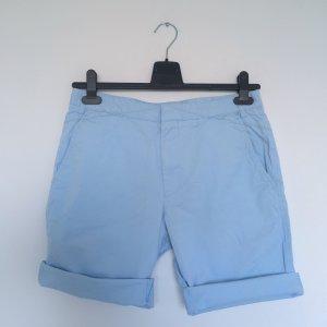 Hugo Boss Bermuda azzurro Cotone