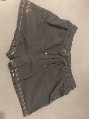 Kappa Shorts nero-rosa