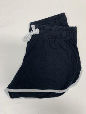 Primark Pantalón corto deportivo blanco-azul oscuro