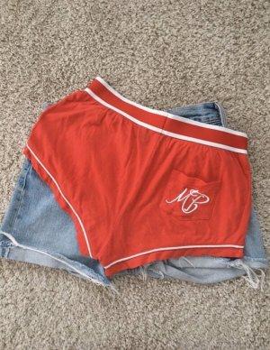 Pantalón corto rojo-rojo ladrillo