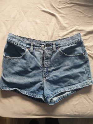 Mustang Pantalón corto de tela vaquera azul