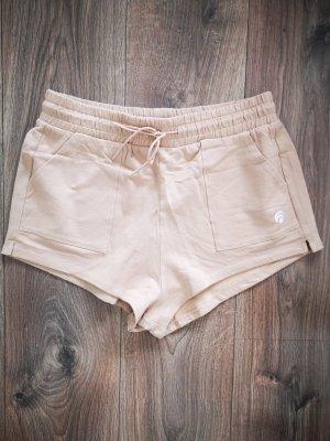 oceans apart Pantalón corto deportivo crema-beige