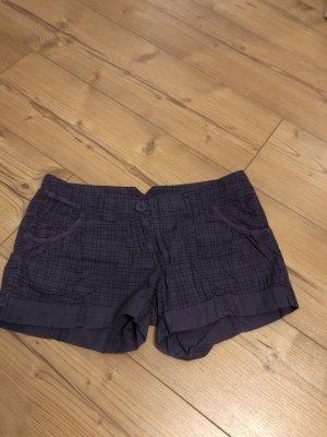 Madonna Hot pants zwart-lila